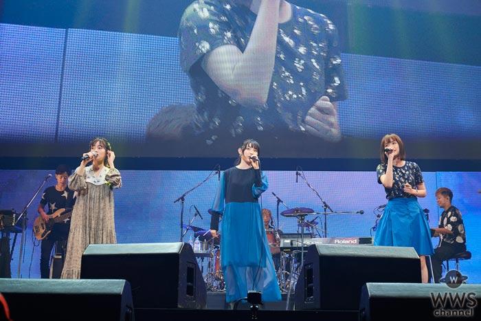 家入レオ、大原櫻子、藤原さくらの3人再集結による大阪城ホールでのライブ映像を公開!