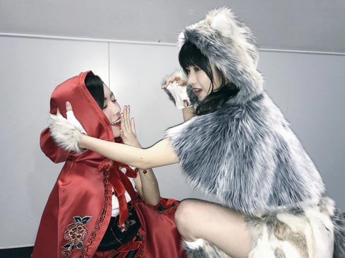 松井珠理奈と横山由依の可愛すぎるコスプレ2ショットを披露!「素敵なハロウィンをありがとう」と歓喜の声!