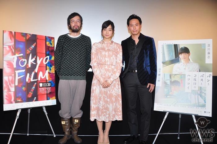 三代目JSB 山下健二郎が深川麻衣と共に東京国際映画祭に登場!「映画でも注目していただけるというのは本当にありがたいです」