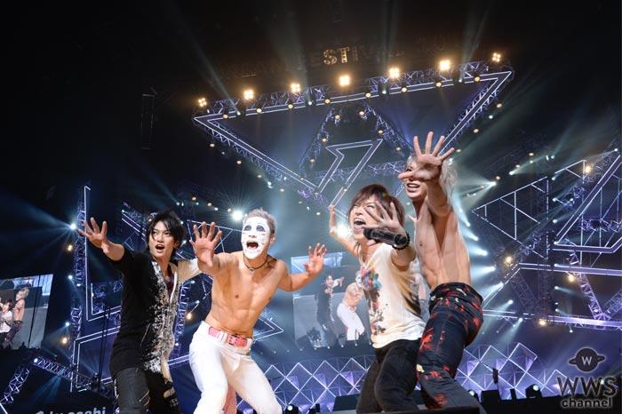 【ライブレポート】ゴールデンボンバーがテレ朝ドリームフェスティバル2017に登場!さいたまスーパーアリーナを舞台に話題の新曲を初披露!