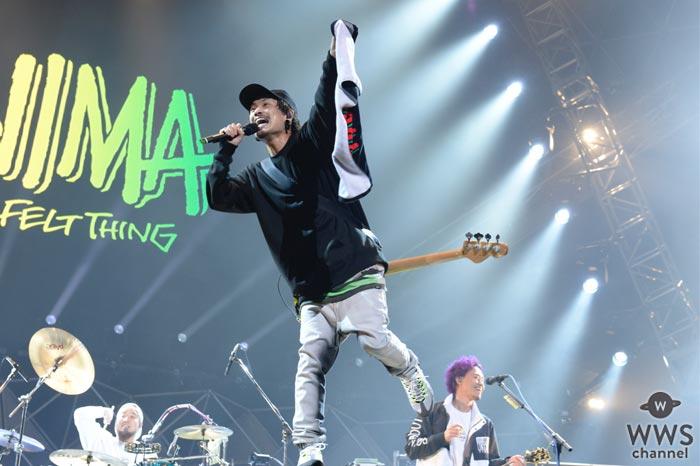 【ライブレポート】今年大ブレイクしたWANIMAが『テレビ朝日ドリームフェスティバル2017』に登場!新曲初披露に「キンチョーしたわー!」
