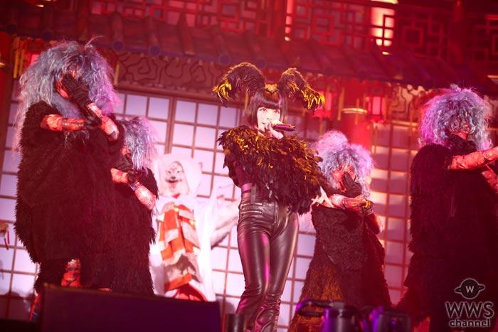 きゃりーぱみゅぱみゅが初となるハロウィン単独公演開催!「お化け屋敷がテーマということで怖いと楽しいって融合できるのかなと感じながらライブを作っていった」