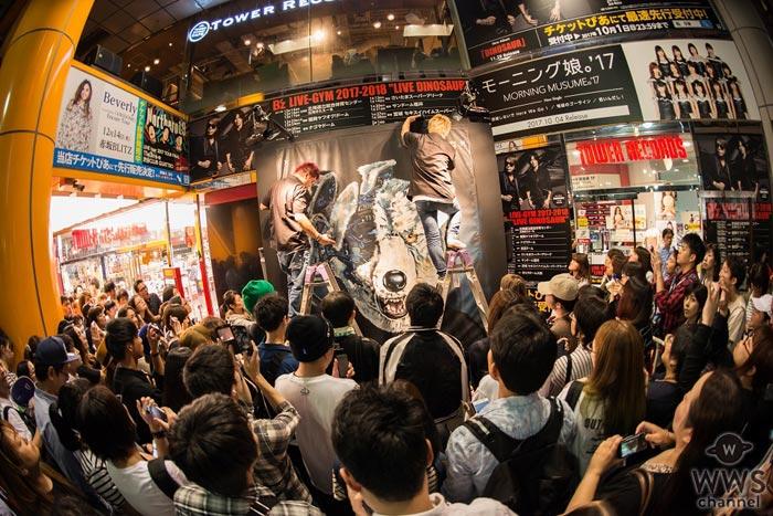 MAN WITH A MISSIONが渋谷でライブペインティングによる新曲ジャケ写解禁!シングル内容詳細も発表!