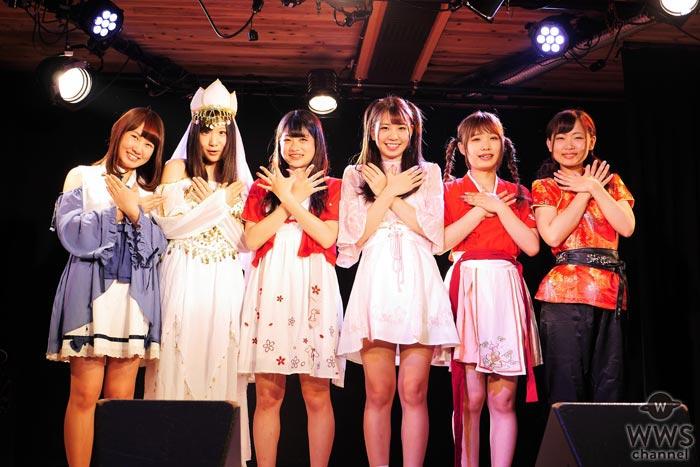 神話の世界を歌で伝えるアイドル・天空音パレードが2020年に向けて発進!結成6年目の赤丸急上昇の大阪アイドルが新曲リリース&来春全国ツアー発表!