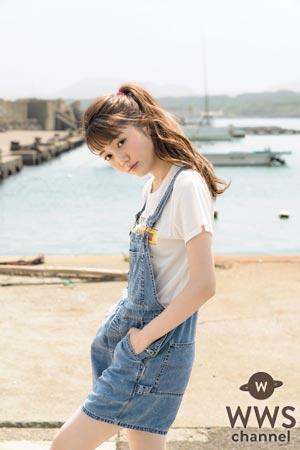 non-no専属モデル 松川菜々花が魅惑的な表情のセクシーグラビアを披露!