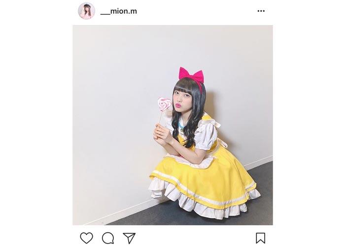 AKB48 向井地美音が可愛すぎるコスプレ姿を披露!あらゆる種類の「可愛い」コメントが殺到!