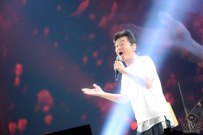 桑田佳祐の5年ぶりの全国ツアーがついにスタート!「今日は最後まで幸せによろしくお願いします!」