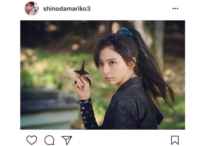 篠田麻里子が美しすぎる くノ一姿を披露!水戸黄門出演でお色気入浴シーンも!?