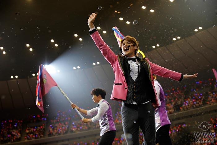 声優、俳優、歌手と非凡な才能を発揮する宮野真守の横浜アリーナ公演をWOWOWでオンエア決定!