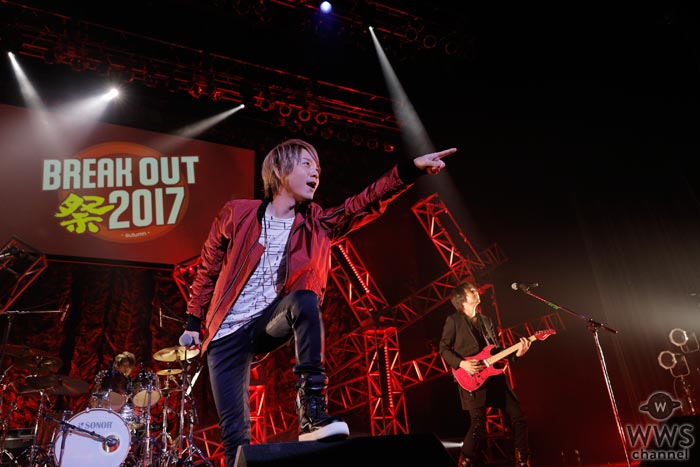 SCREEN modeが『BREAK OUT祭-autumn-』のトップバッターに登場!新曲『DISTANT GOAL』を初披露!