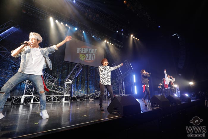 COLOR CREATIONが『BREAK OUT祭-autumn-』にNEXT BREAK ARTISTとして登場!