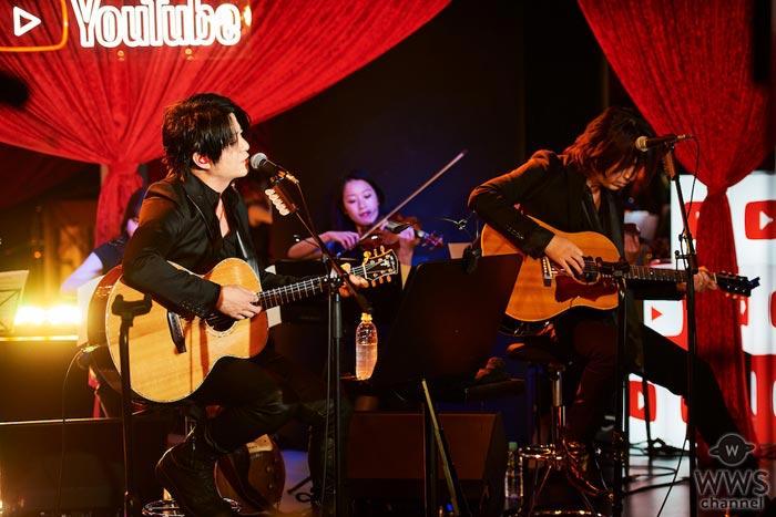 GLAYのTERU、TAKUROがニューシングル発売日に50組のカップルに愛を歌う!「幅広い人に愛される曲になってほしいと思います」