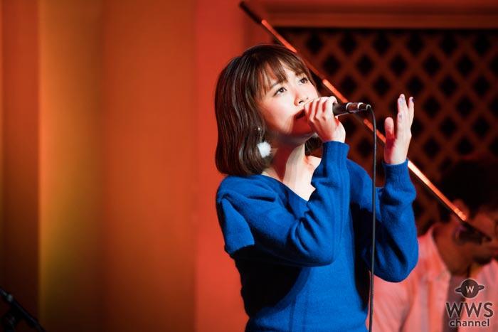 大原櫻子が圧巻のアカペラ歌唱で新曲『さよなら』を披露し1000名の観客を魅了!