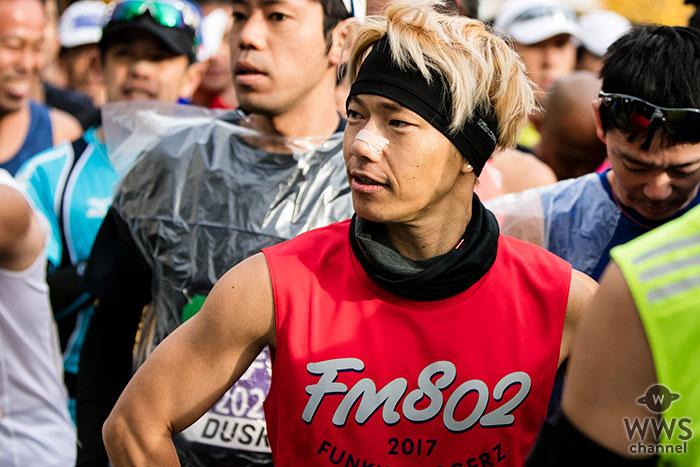 アーティスト史上最速の男が誕生! eyeron(Sonar Pocket)が2時間43分で 「大阪マラソン」を完走!!!