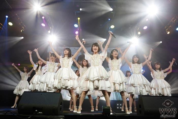 乃木坂46のアジア初進出となるシンガポール公演が大盛況にて終了!更にサプライズ発表も!