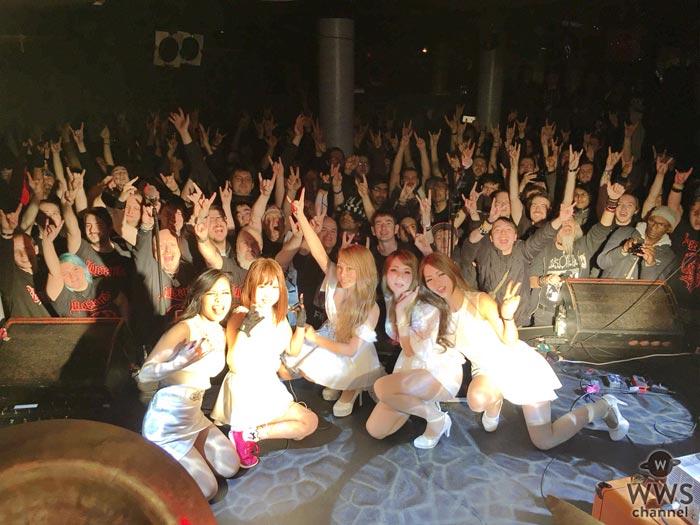 LOVEBITESがロンドンの名門ライヴハウスで初の海外公演!地元ファンやメディア、ミュージシャンが駆けつけた熱狂の夜!