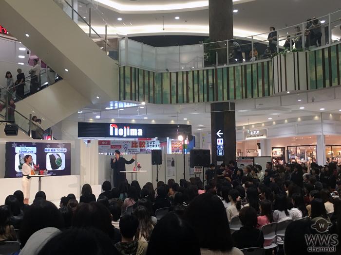 松下優也がクリスマストークショーを開催!クリスマスソングをアカペラでサプライズ披露!