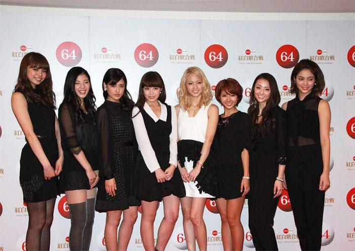 【E-girls囲み会見】 第64回NHK紅白歌合戦 12月29日リハーサル @NHKホール