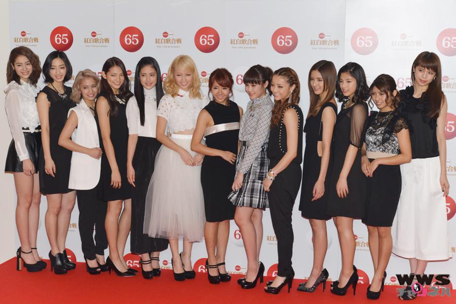 【NHK紅白】第65回NHK紅白歌合戦 E-girlsが29日リハーサルに登場!