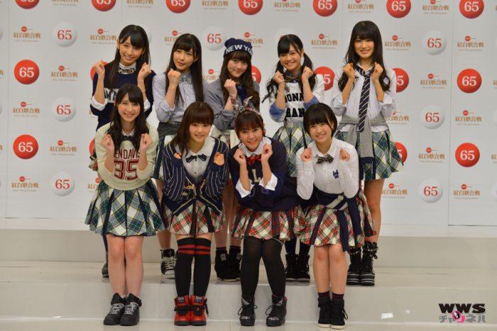第65回NHK紅白歌合戦,HKT48