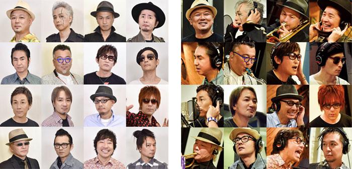 """NHK BSプレミアム「The Covers」に、 """"ROOTS66""""が登場!!! スガ シカオを始め、総勢 16 名 の1966年生まれの豪華アーティスト達が愛しのカバー曲を披露する スペシャル企画!"""
