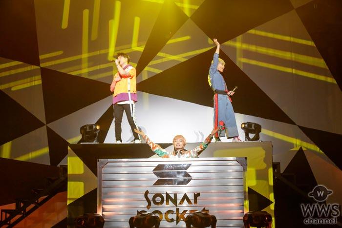Sonar Pocketが5年振りの日本武道館でツアー・ファイナル!「10周年もSonar Pocketと居て下さい」