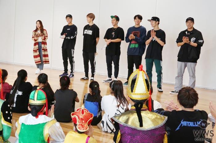 EXILE世界、Leola、FANTASTICSがモンゴルの子供達と歌とダンスで交流!「ダンスや歌で交流できることの素晴らしさを改めて感じた」