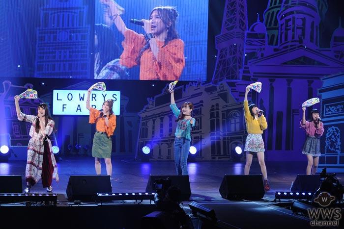 Little Glee Monsterが『GIRLS TUNE FES 2017』で熱唱!ラストはモデル達と共にコラボステージ!