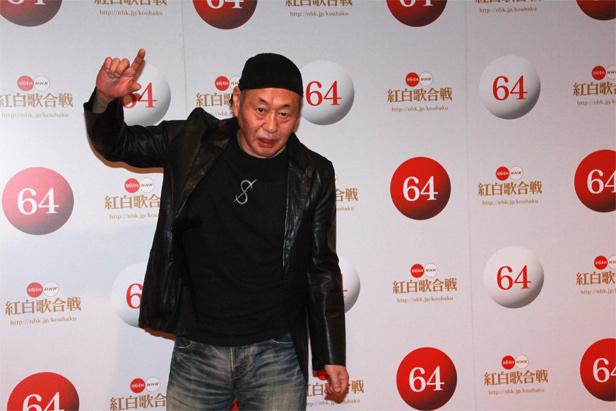 【泉谷しげる囲み会見】 第64回NHK紅白歌合戦 12月29日リハーサル @NHKホール