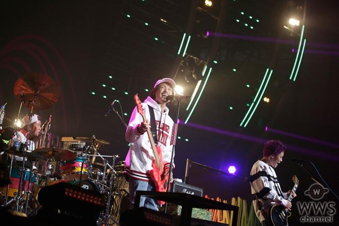 WANIMAが『バズリズム LIVE』に3年連続出演!「来年もここに戻ってこれるように、みんなよろしくね!」