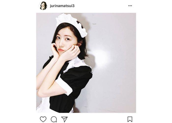 SKE48 松井珠理奈が超絶可愛いメイド姿を披露!「じゅりメイドは破壊力抜群だわ」と歓喜の声!