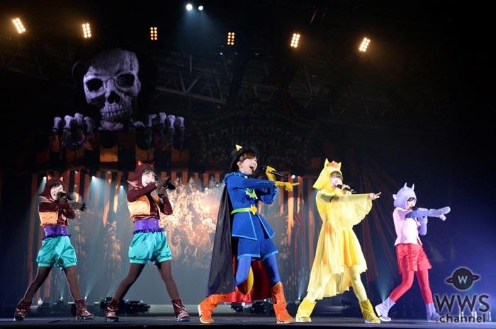 ももいろクローバーZが可愛らしい『かいけつゾロリ』の仮装でVAMPS主宰『HALLOWEEN PARTY』に登場!「今年も色気のかけらもないよ」