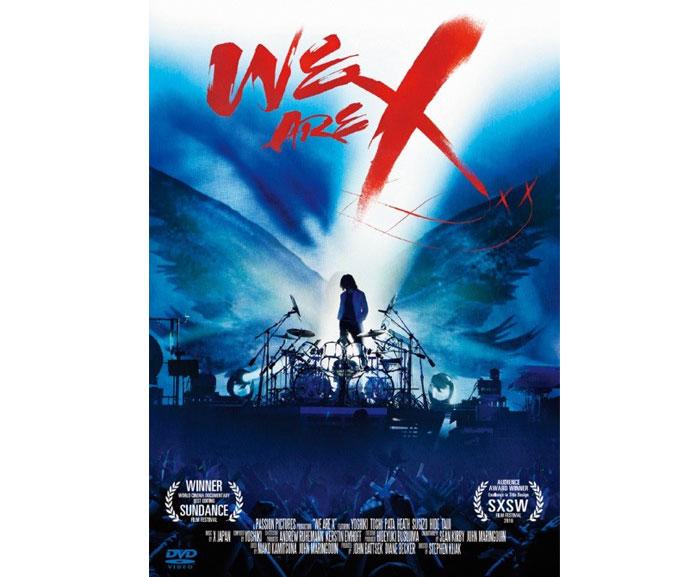 映画『WE ARE X』 Blu-ray&DVD発売記念 「『WE ARE X』 ✕ 通信カラオケDAM」コラボ企画決定! テーマ曲「La Venus」背景に特別編集映像を配信