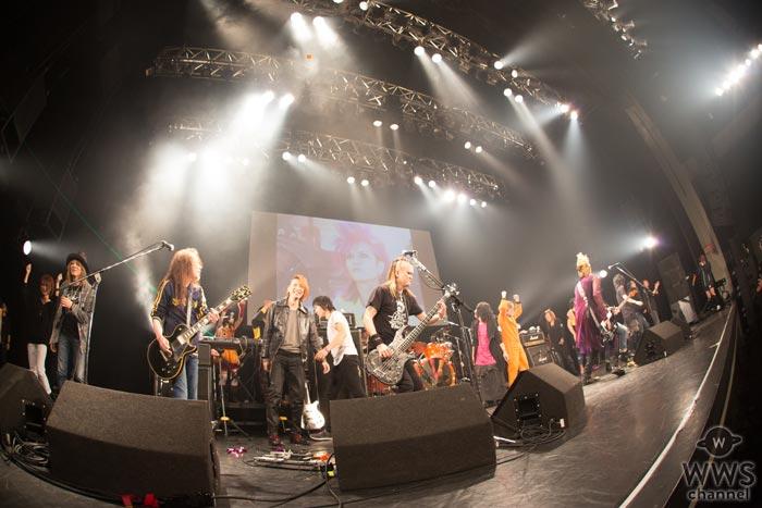 【ライブレポート】hide Birthday Party 2017のクライマックスで、hideバンドのセッションが実現!来春に『hide 20th memorial SUPER LIVE「SPIRITS」』開催、hide with Spread Beaverの出演決定!