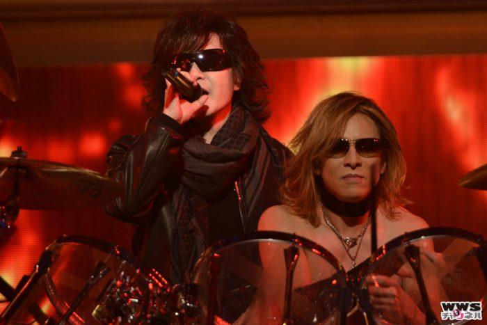 X JAPANが第66回NHK紅白歌合戦 リハーサルに登場!