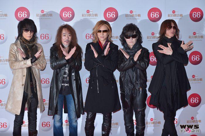X JAPANが第66回NHK紅白歌合戦 リハーサルに登場!YOSHIKI「せっかく復活できたので最大限の過激なパフォーマンスをしますよ!」