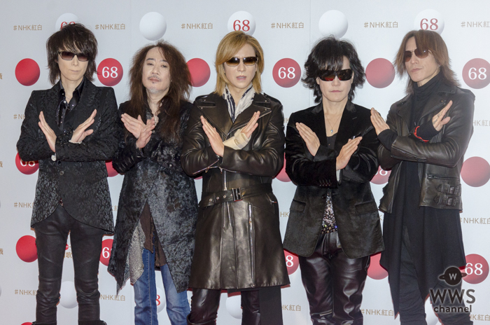 X JAPANがNHK紅白歌合戦のリハーサルに登場!「安静にしているより多少は無理した方がいいんです。ドラムもリハビリですね」