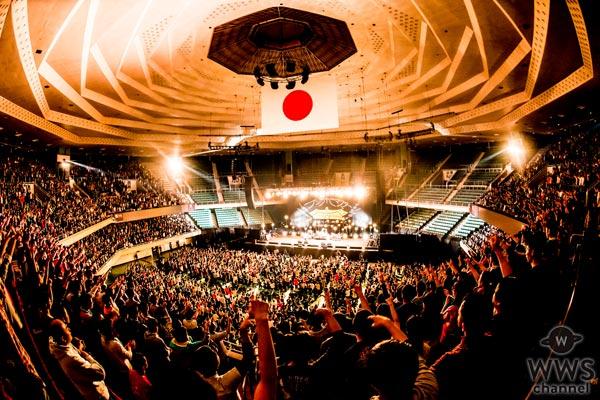 サンボマスターが初の日本武道館公演を開催!2018年には東京・大阪で『男どアホウサンボマスター』の開催を発表!