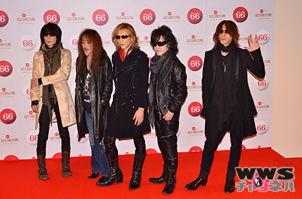 【写真特集】X JAPANが第66回NHK紅白歌合戦で『Forever Love』『BORN TO BE FREE』の2曲を披露!「ファンの方にもらった第二の人生です。」