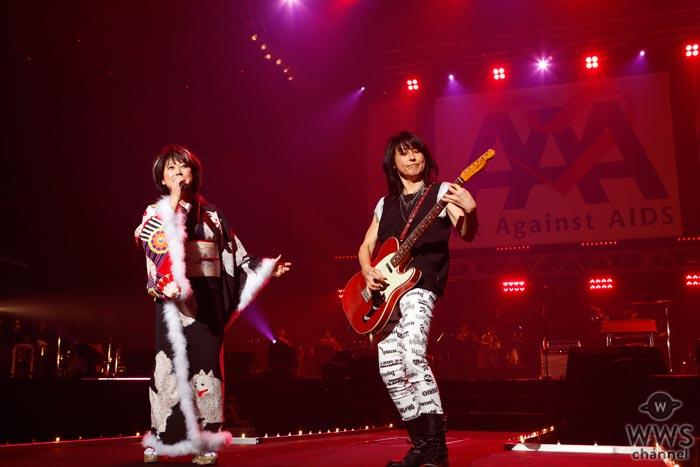 岸谷香と水谷千重子のコラボステージで『Act Against AIDS 2017』が華やかに開幕!