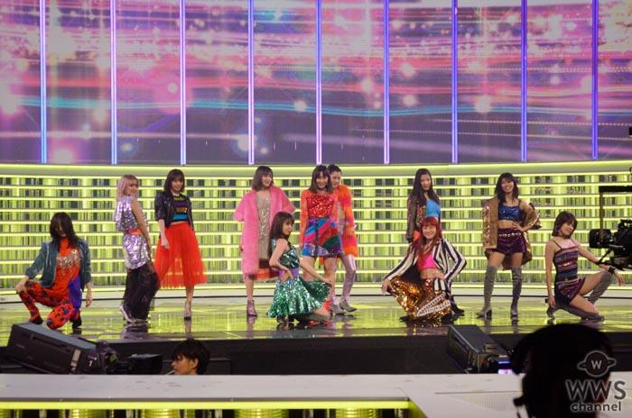 E-girlsがNHK紅白の最終日リハーサルで美脚をお披露目!個性豊かなキラキラ衣装で華やかに魅せる!