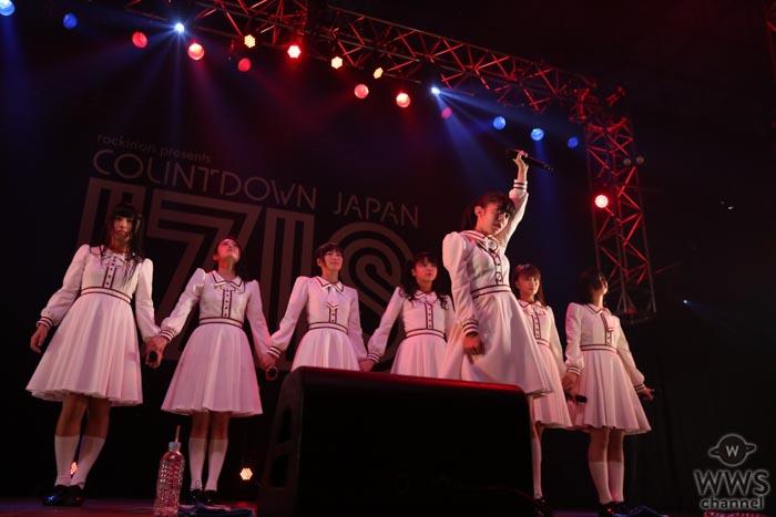 【ライブレポート】私立恵比寿中学が廣田あいかがいる7人体制でのラストフェス『COUNTDOWN JAPAN 17/18』で2017年を最高の形で締めくくる!