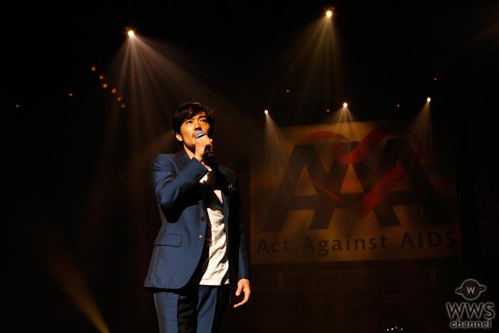 大谷亮平が『Act Against AIDS 2017』で福山雅治の『Squall』を韓国語で大熱唱!
