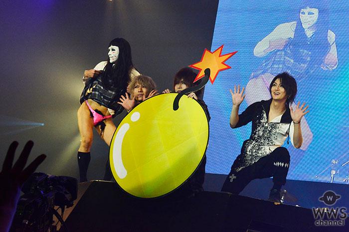 【ライブレポート】ゴールデンボンバーがCOUNTDOWN JAPAN 17/18 2日目に登場! 今年の事件を金爆風に振り返ったらこうなった?