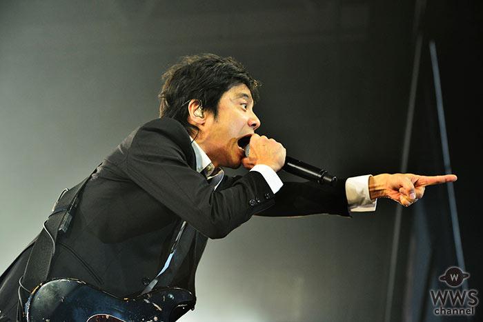 エレファントカシマシが『COUNTDOWN JAPAN 17/18』EARTH STAGEに登場!デビュー30周年となる2018年を迎え撃つパワフルなライブを披露!