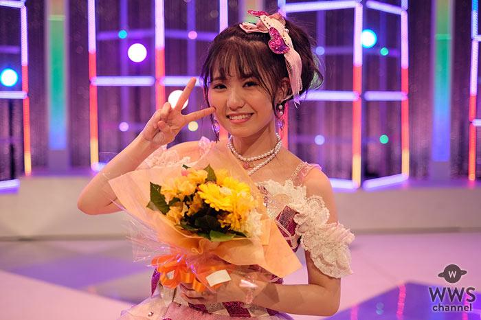 SKE48 髙寺沙菜、笑顔で最後の歌番組出演!