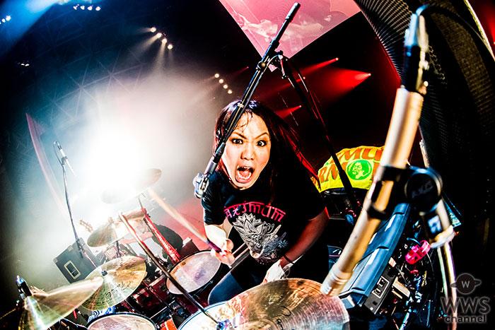 マキシマム ザ ホルモンが『COUNTDOWN JAPAN 17/18』EARTH STAGEに登場!腹ペコたちが待ち望んでいた狂乱のライブをレポート!