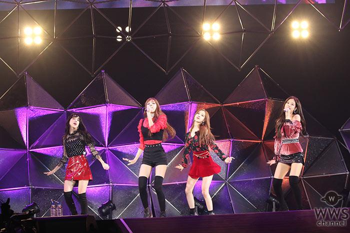 韓国の次世代ガールズグループ・BLACKPINKがオールナイトニッポン50周年イベントにトリで出演!デビュー曲『BOOMBAYAH』など全4曲を激しいダンスパフォーマンスで披露!「みなさんの反応がアツくて、寒さも忘れるぐらいです!」