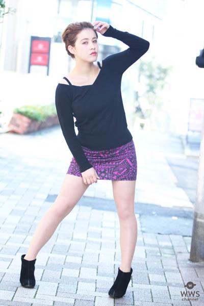 【動画】ハーフ美女・ 白木リリからメッセージ! 東京オートサロン2018に出演!