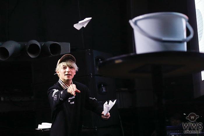 DISH//小林龍二、生誕祭で新たなる誓い!「ワンステップ上を目指して、いつかベースを極めたい!!」